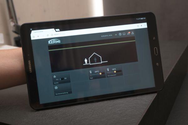 Smart Home - Kermi Bedienpanel