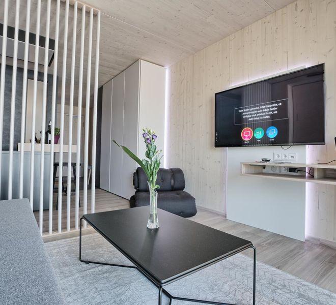 Timber Homes Wohnzimmer